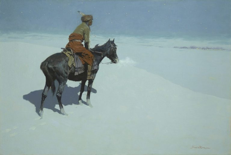 Frederic Remington, Sculptor, Painter, 1861-1909