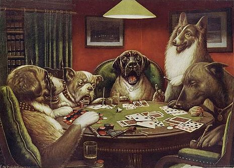 Waterloo_Dogs_Playing_Poker