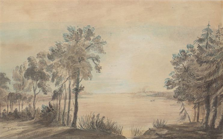 York Harbor, looking west 1793