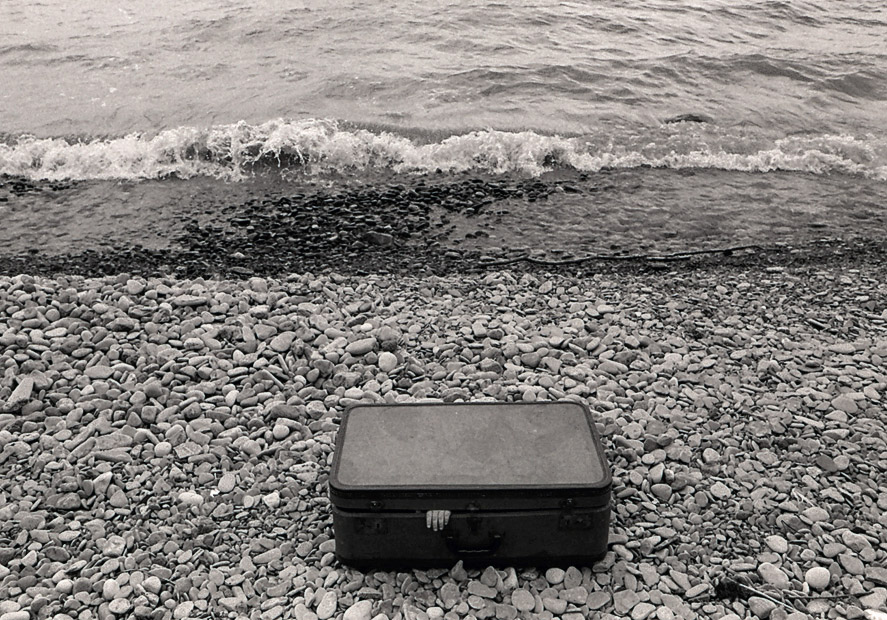Suitcase Washed Ashore