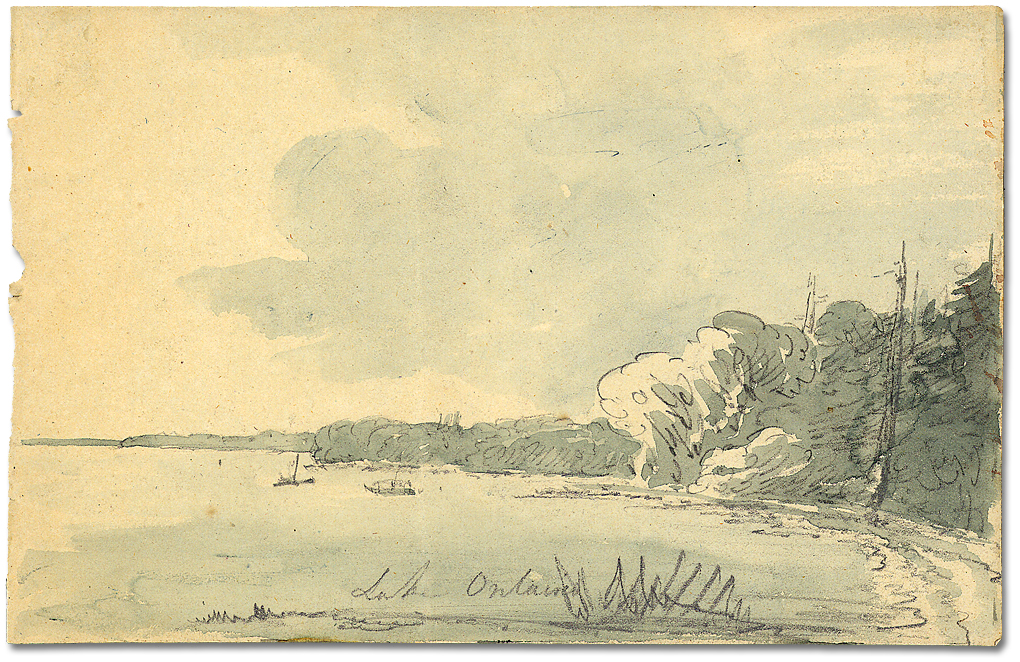 Lake_Ontario_shore,_circa_1793